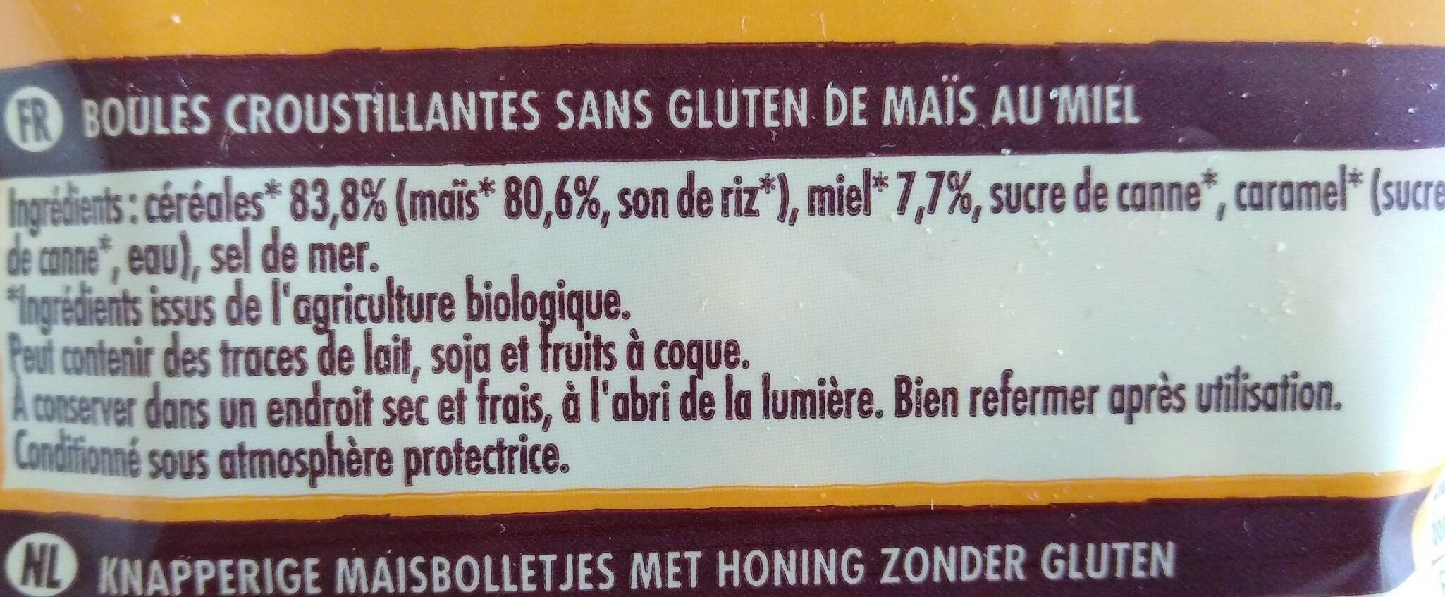 Crosti - Ingrediënten - fr