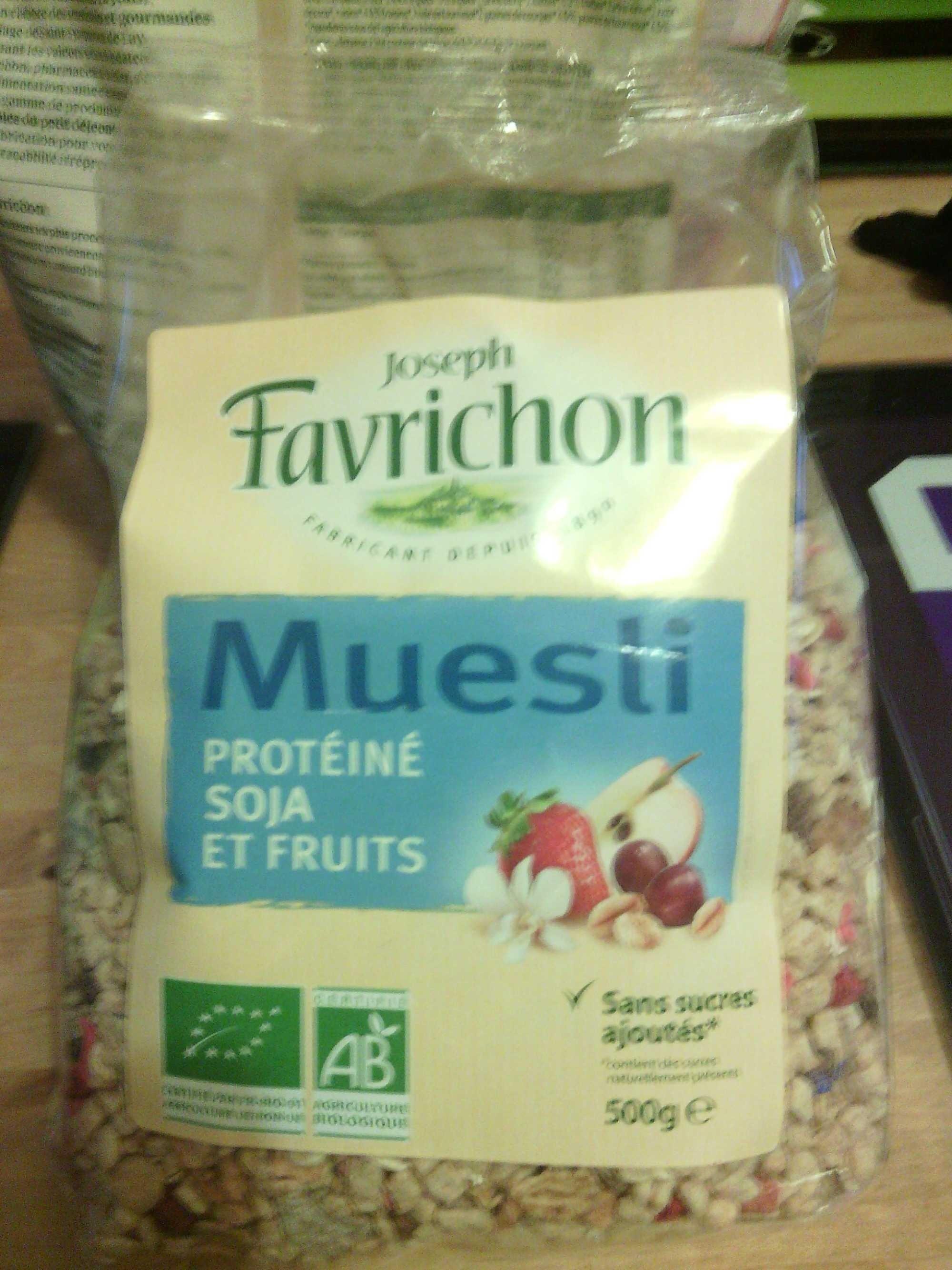 muesli favrichon proteine
