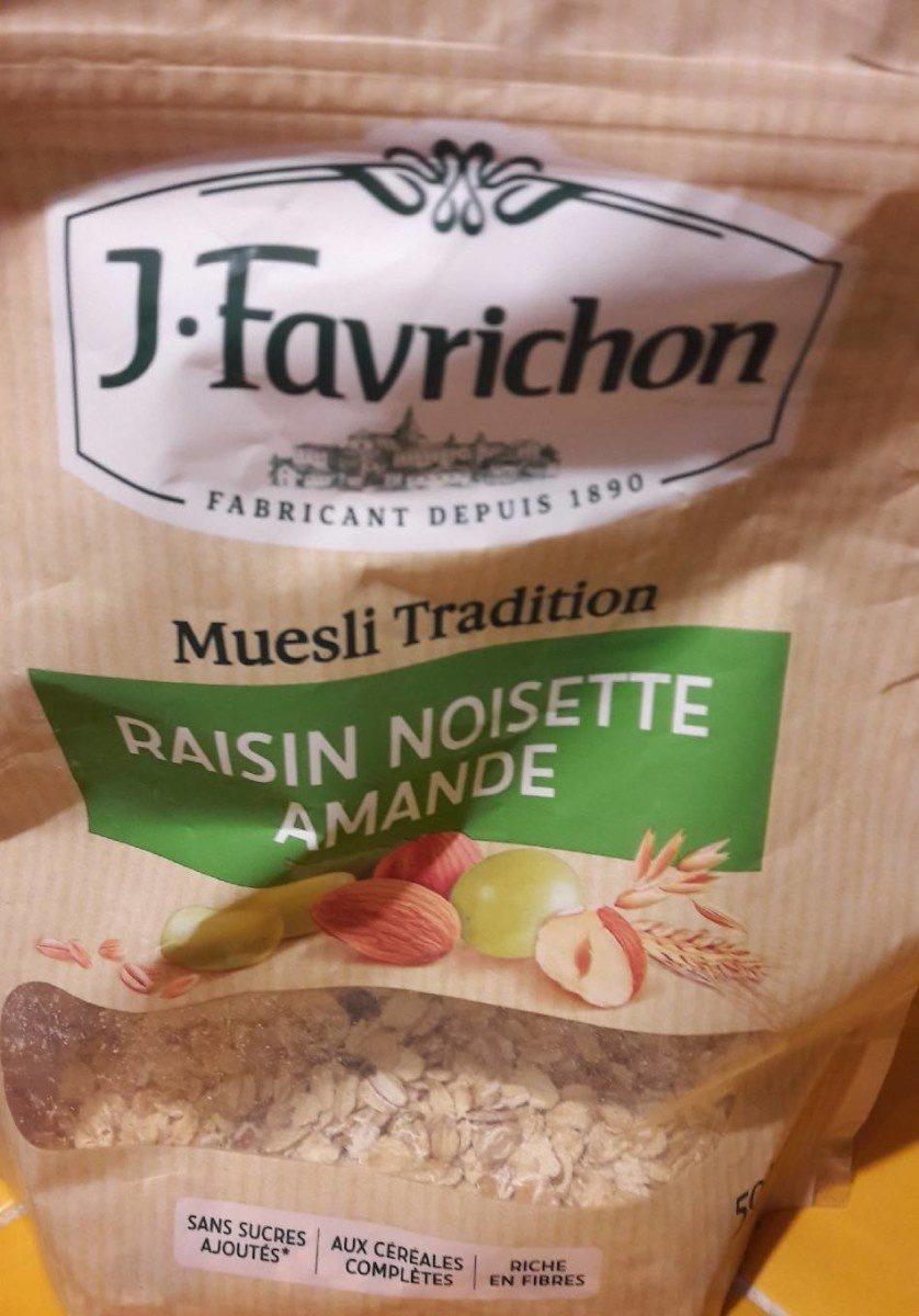 Muesli tradition - Produit