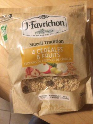 Muesli 4 céréales et 8 fruits - Produit - fr