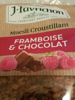 muesli croustillant framboise & chocolat - 产品 - fr