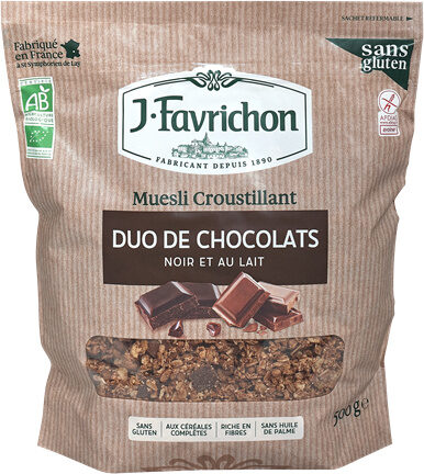 Muesli croustillant - duo de chocolats - Prodotto - fr