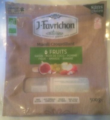 Muesli Croustillant 6 Fruits - Product