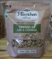 Muesli croustillant  graines de lin et courge - Product