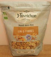 Muesli Bien-être Lin & Fibres - Product
