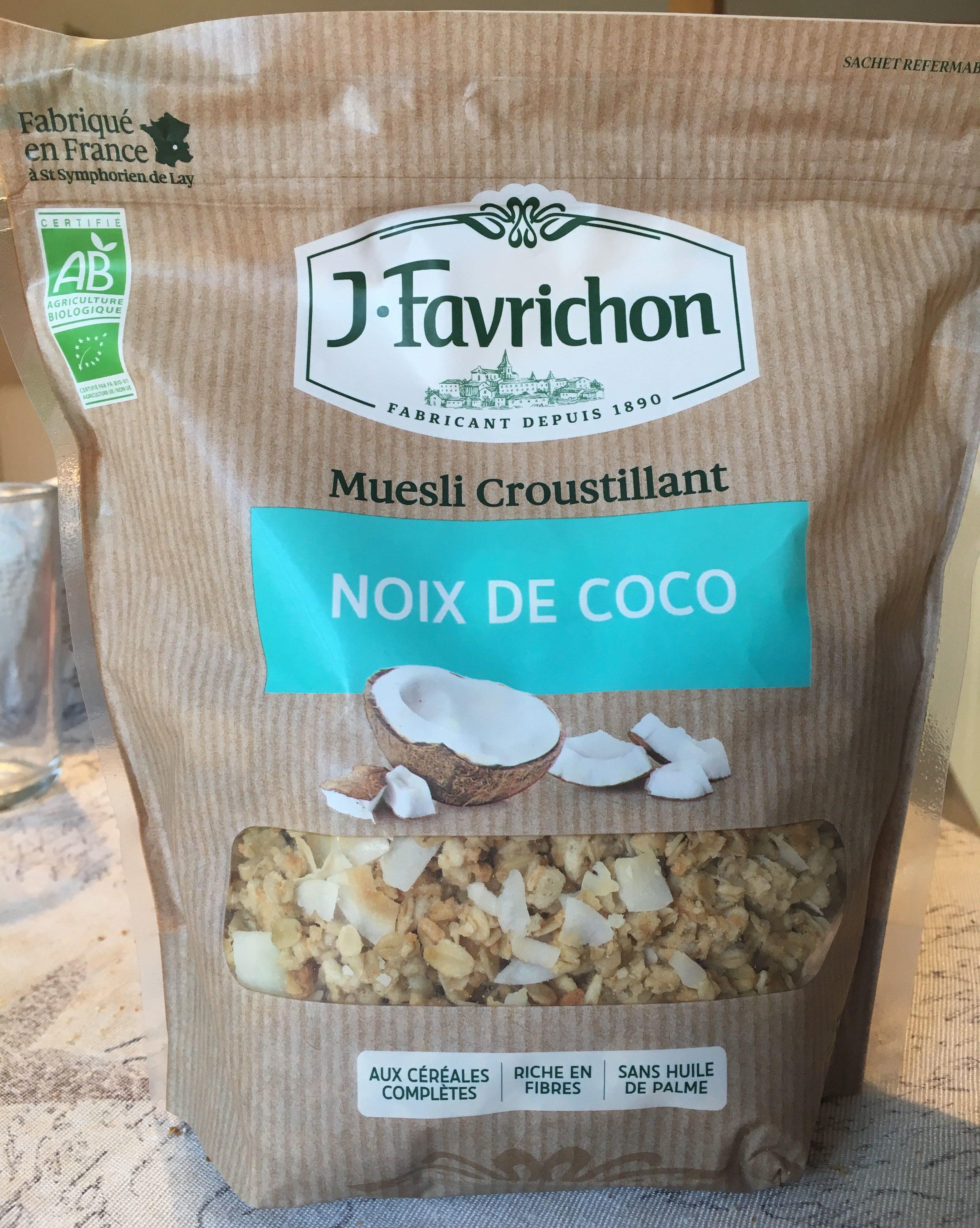 Muesli croustillant noix de coco - Product