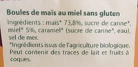 Crosti Boules Miel - Ingredienti - fr