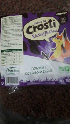 Riz soufflé au chocolat sans gluten - Product