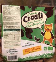 CROSTI COEUR FONDANT CHOCO NOISETTES - Product