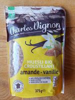 Muesli bio croustillant amande vanille - Produit