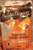 Muesli bio figue, datte, orange, amande - Product - fr