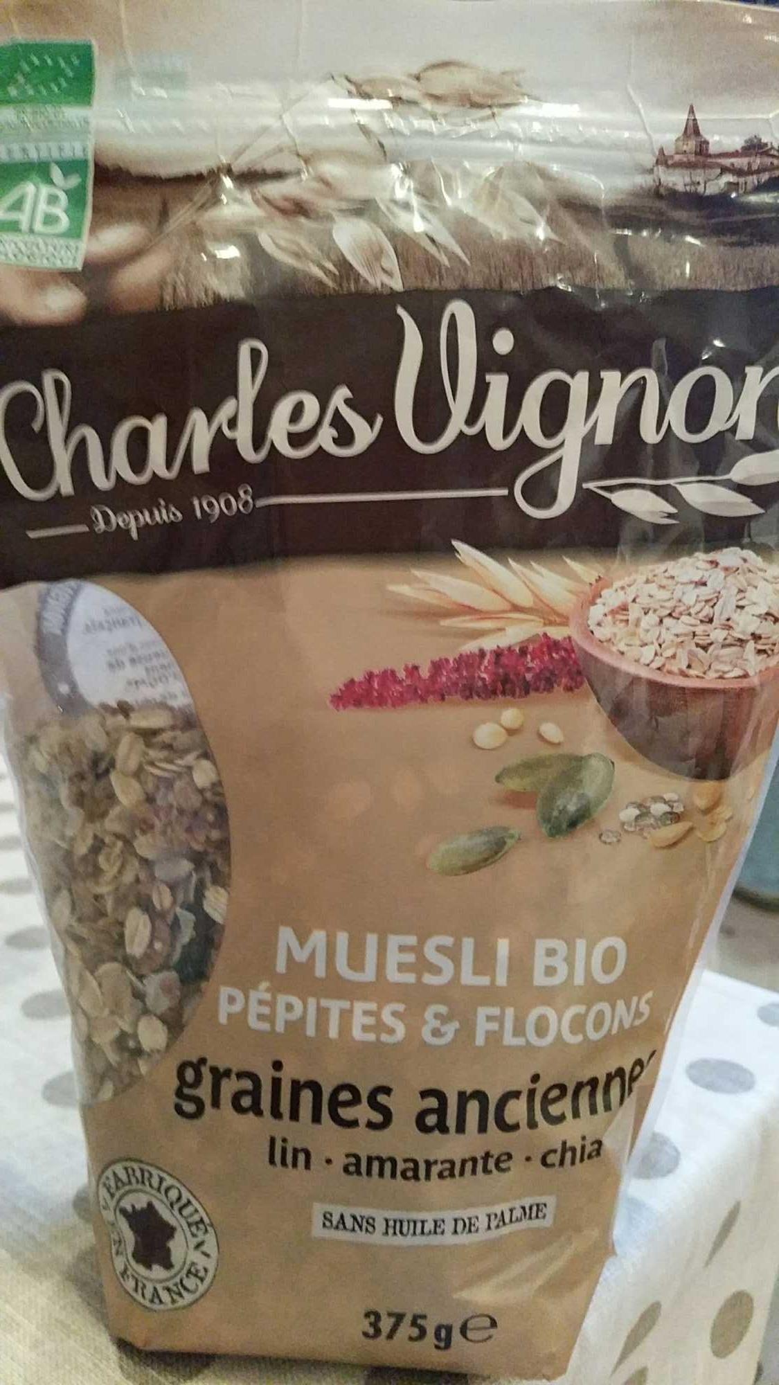 Muesli bio pepites & flocons graines anciennes - Product - fr