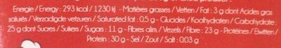 Cèpes extra séchés - Voedingswaarden - fr