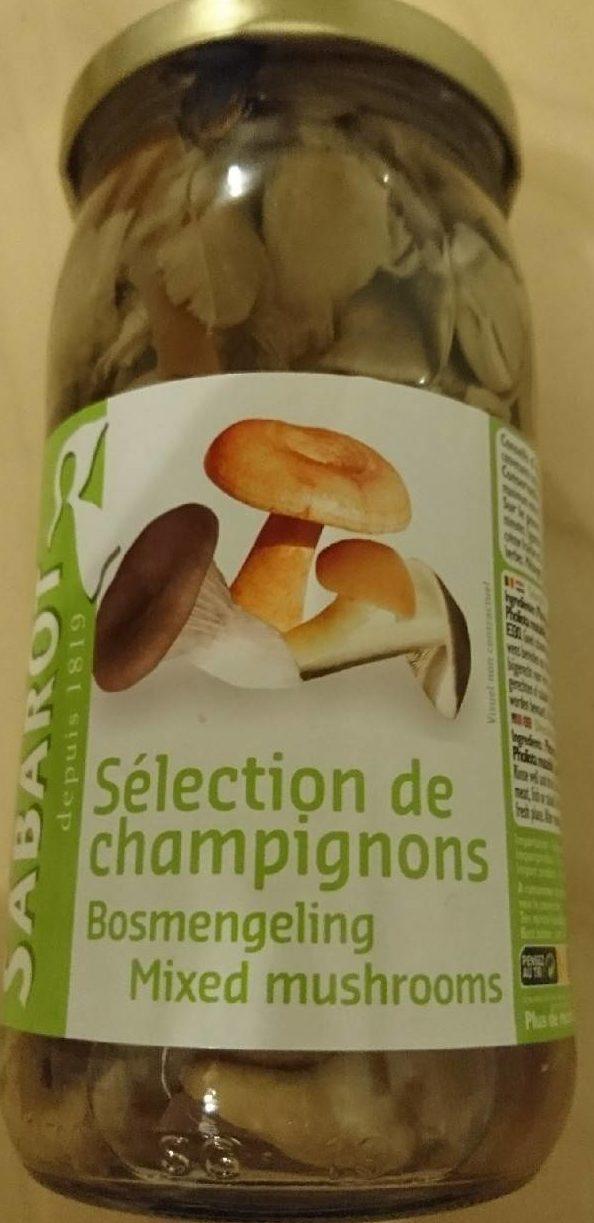 Sélection de Champignons - Produit - fr