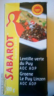 Lentille Verte du Puy AOC AOP - Product