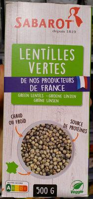 Lentilles vertes de France - Produit - fr