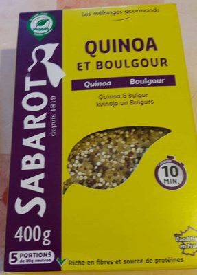 Quinoa et Boulgour - Produit