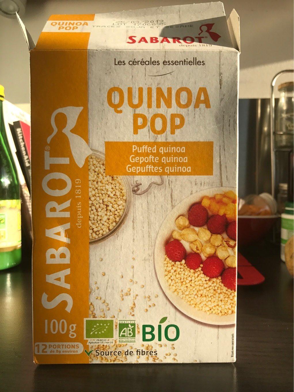 quinoa pop - Product