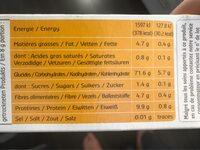 quinoa pop - Voedingswaarden