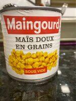 Maïs doux en grains - نتاج - fr