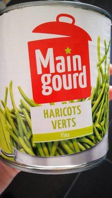 4 / 4 Haricots Verts Fins Maingourd* - Produit - fr
