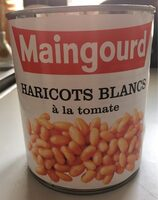Haricots blanc à la tomate - Produit - fr