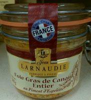 Foie gras de canard entier au piment d'Espelette - Produit