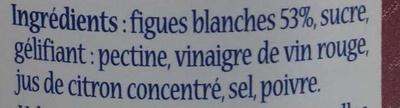 Confit de figues - Ingrediënten