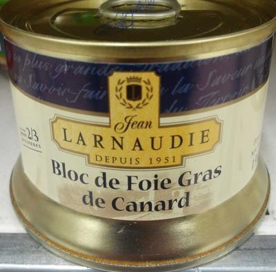 bloc de foie gras de canard jean larnaudie