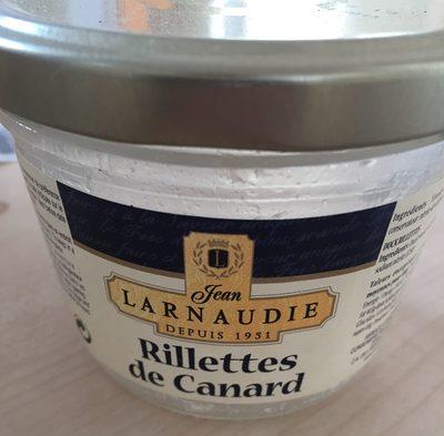 Rillettes de canard - Product - fr