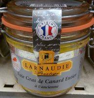 Foie gras de canard entier à l'ancienne - Produit