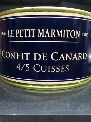 Confit de canard 4/5 cuisses - Produit