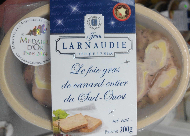 Le foie gras de canard entier du Sud-Ouest - Product