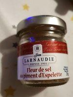 Fleur de sel au piment d espelette - Produit