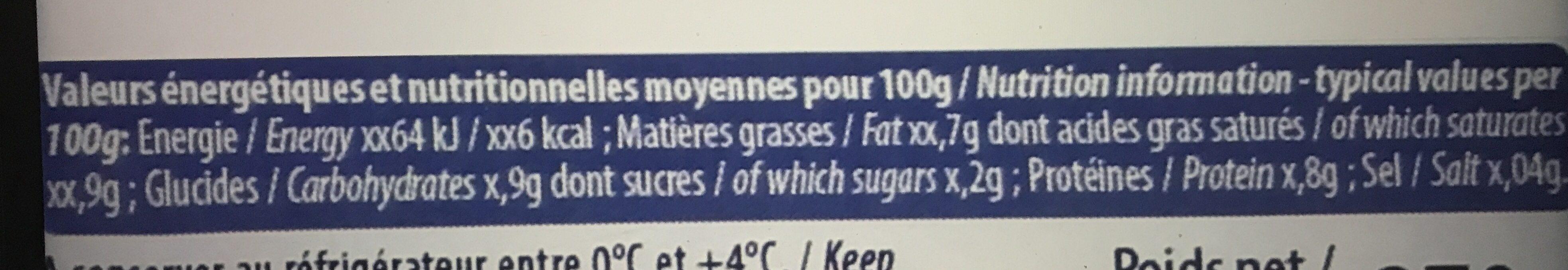 Le Foie Gras de Canard Entier du Sud-Ouest - Ingrediënten - fr