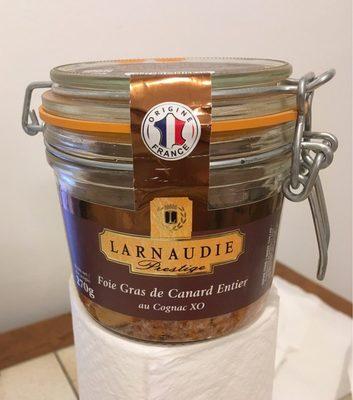 Foie Gras de Canard Entier au Cognac XO - Product