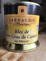 Bloc de foie gras de canard au muscat - Product