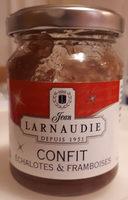 Confit échalotes & framboise - Produit