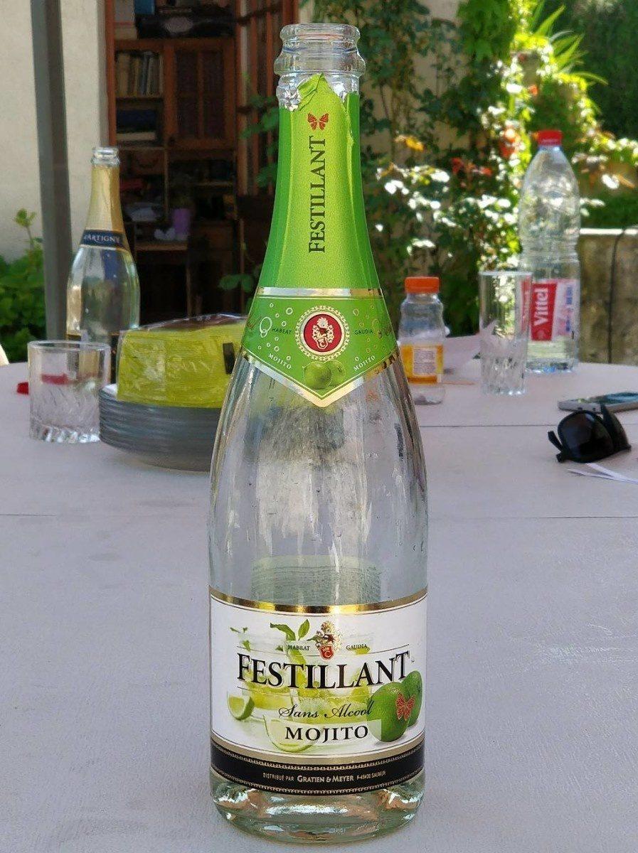 Festillant mojito à base de vin désalcoolisé - Product - fr