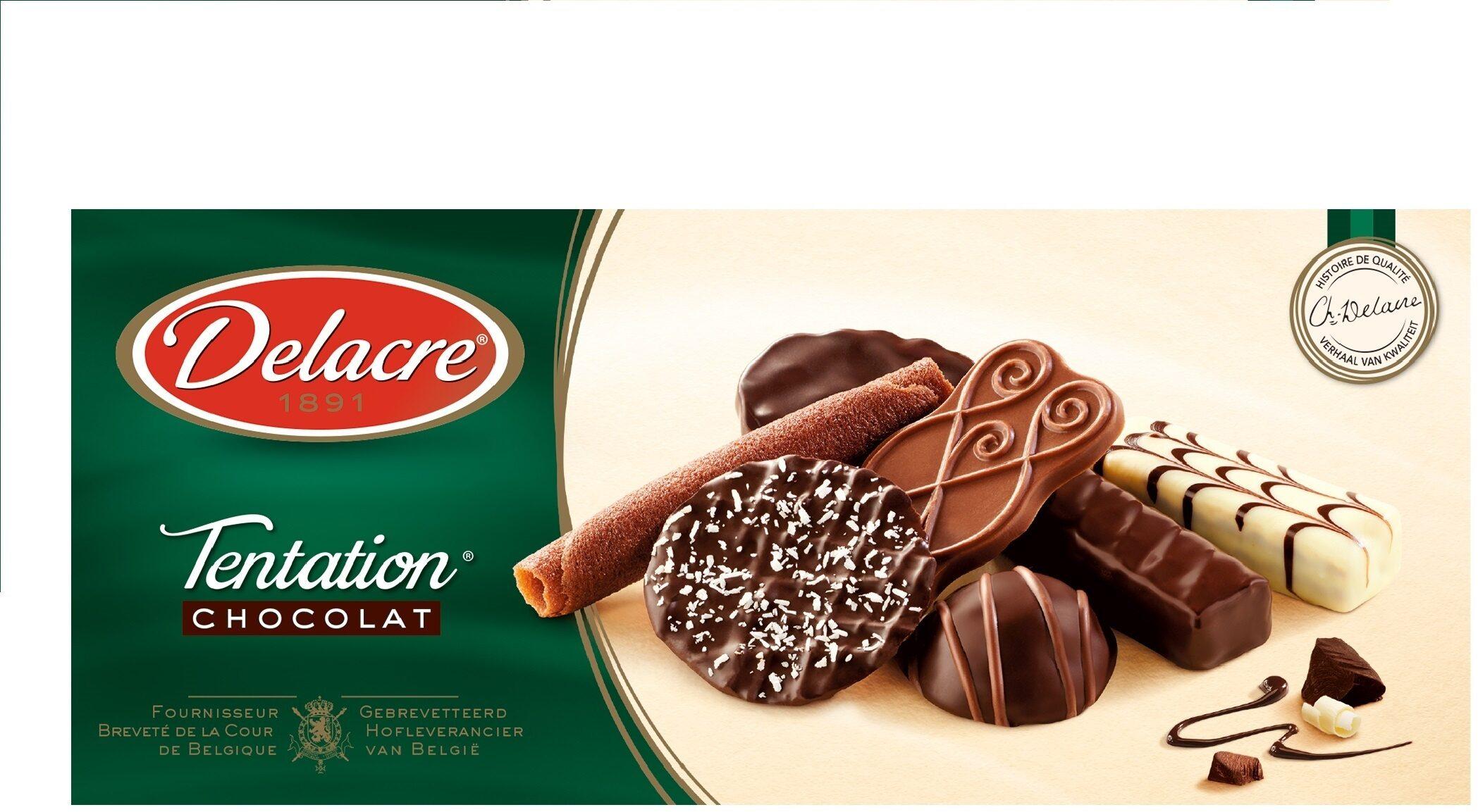Delacre tentation chocolat assortiment biscuits - Produit - fr