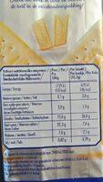 Gâteau - Informations nutritionnelles - fr