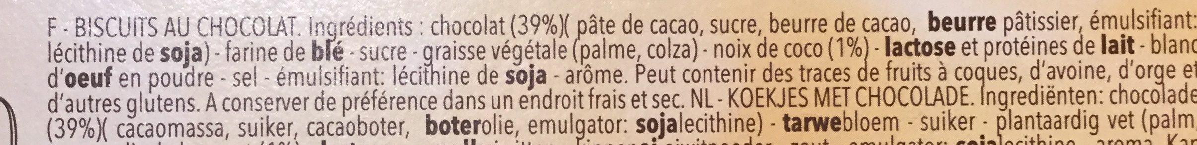 Biarritz - Ingredients