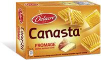 Delacre canasta biscuits aperitifs fourres fromage jambon fume - Produit - fr