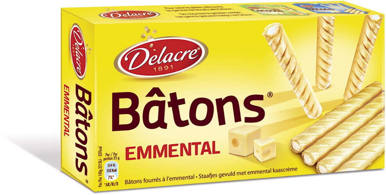 Delacre batons biscuits aperitifs fourres emmental - Produit - fr