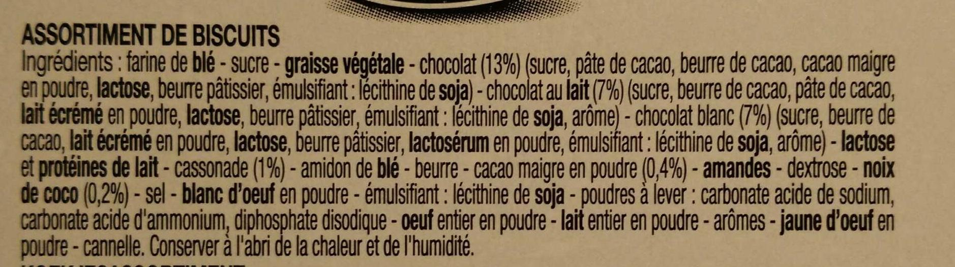 Delacre 1891 - Ingrediënten - fr