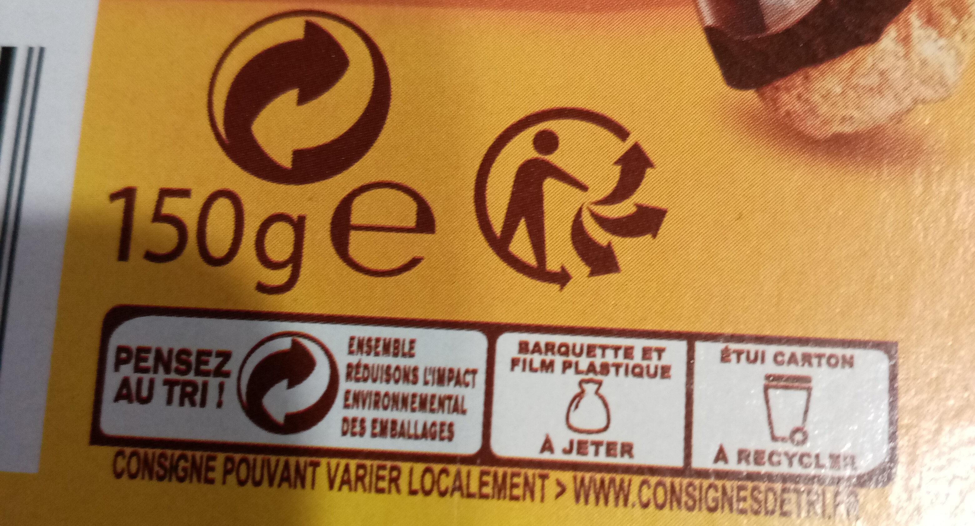 Delichoc tablette chocolat lait - Recyclinginstructies en / of verpakkingsinformatie - fr