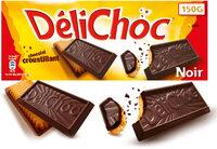 Delichoc tablette chocolat noir - 产品 - fr
