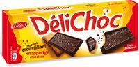 Delichoc tablette chocolat noir - Produit - fr