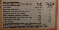 Delichoc tablette chocolat noir - Informations nutritionnelles - fr