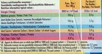 Delichoc tablette chocolat lait lot 3x150g ( - Valori nutrizionali - fr